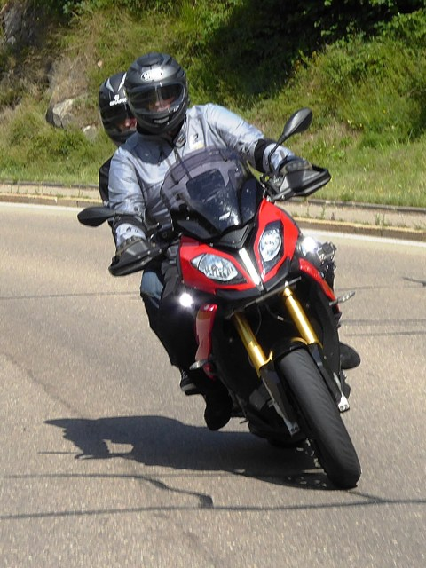 Andy & Chris on BMW S1000XR