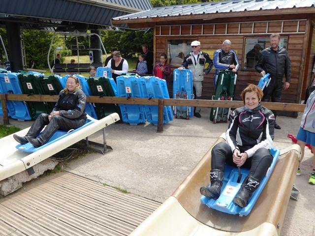 Helen races Karen