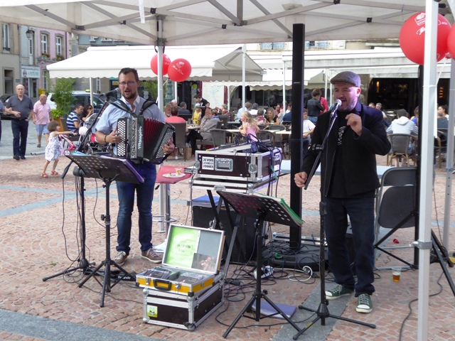 Live music in the square