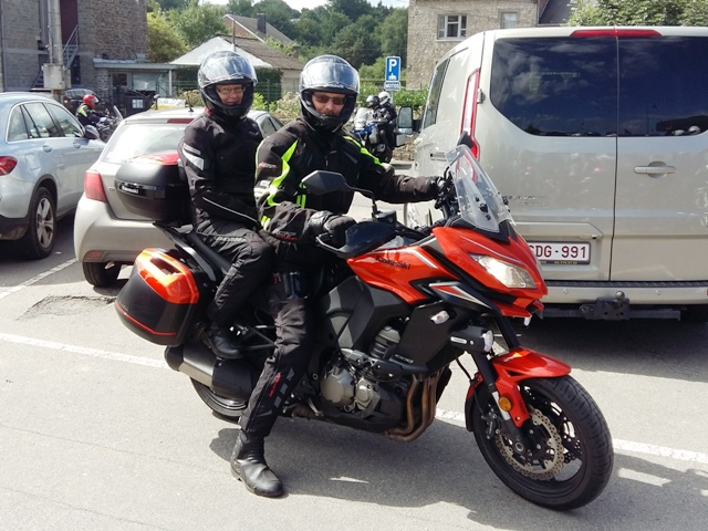 Stuart & Val on their Versys 1000