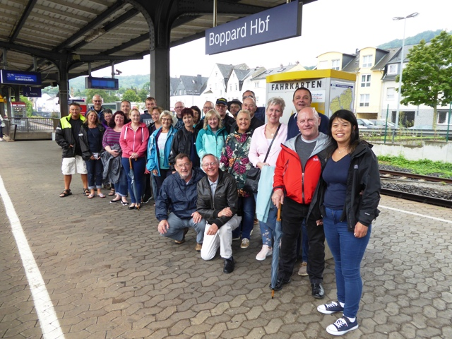 A free day - most take the train to Rudesheim