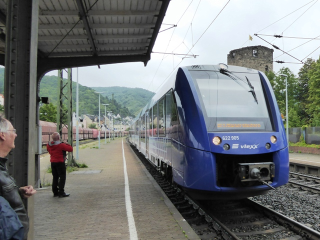 Take the train to Bingen