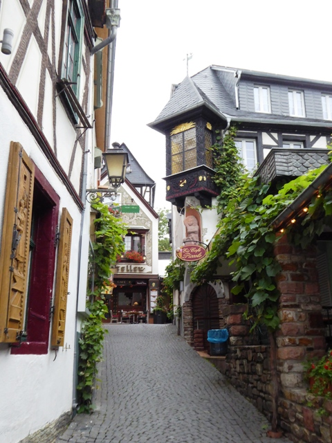 Pretty back streets