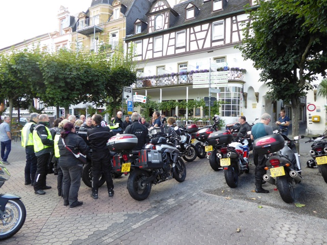 A quick talk before we leave Boppard