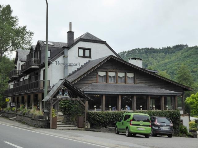 Our hotel in Belgium