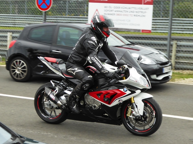 Russ on his BMW S1000RR