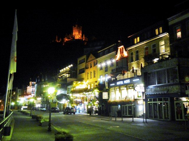 A free evening in Cochem, Germany