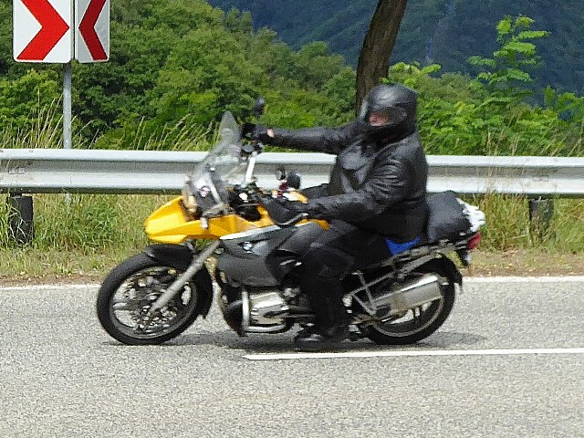 Mark on his BMW R1200GS
