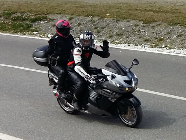 Ian & Heather - Kawasaki ZZR 1400