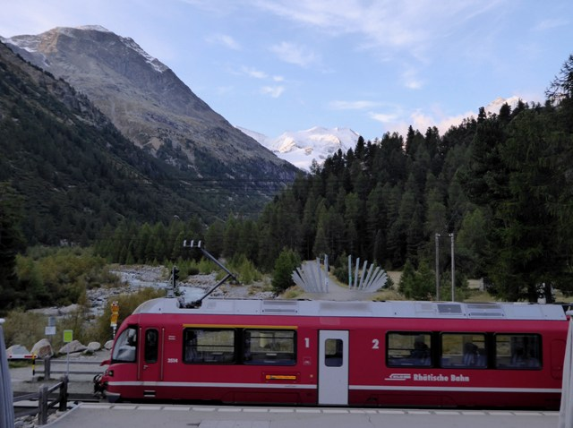 The Bernina Express is included