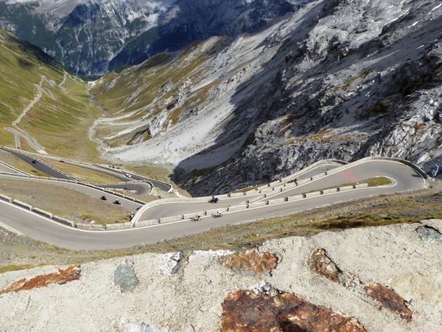 The famous Stelvio Pass