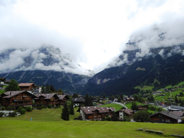 lunch at Grindelwald