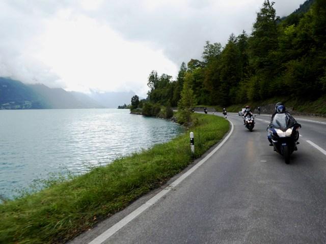 Back along the lake