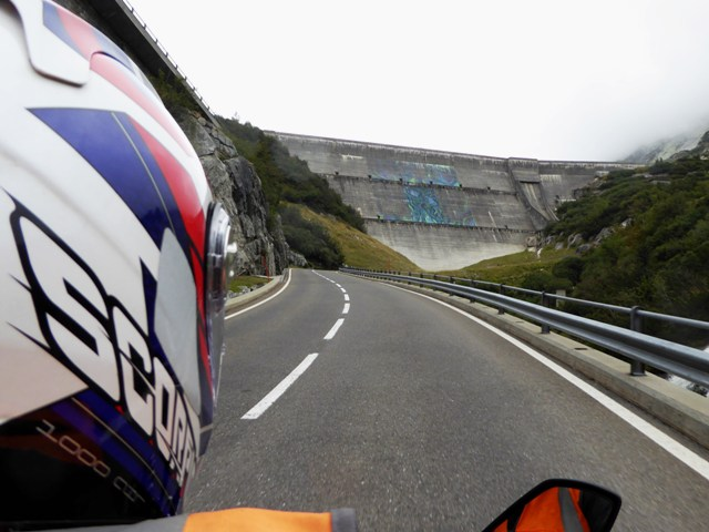 We ride up the Grimsel Pass