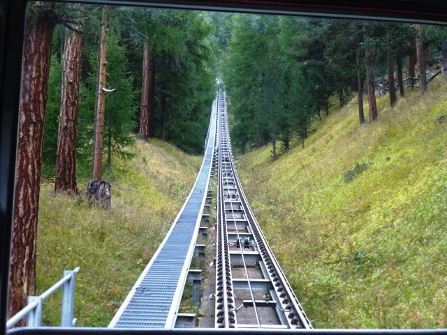 Take the rack-railway