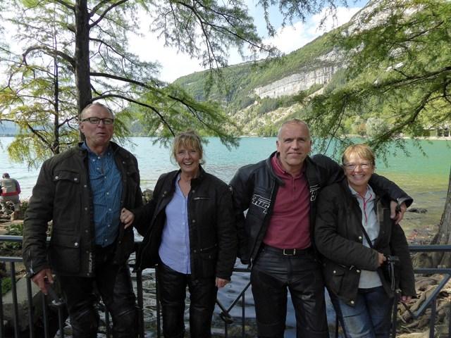 Martin & Alison, Martyn & Claire