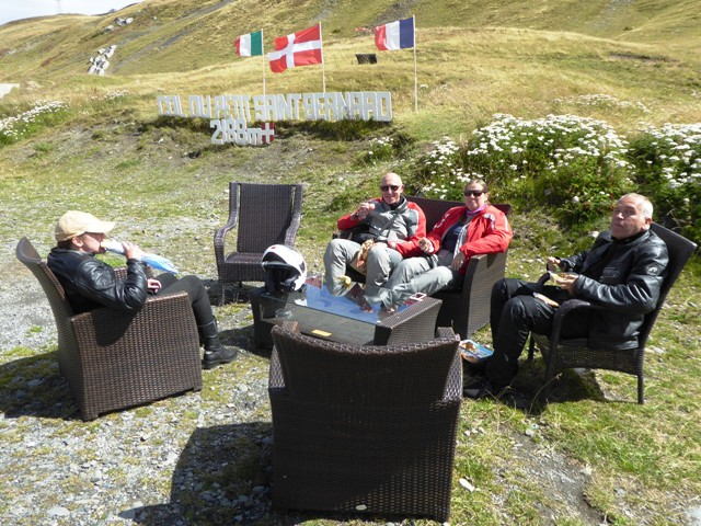 Pic-nic lunch at the top