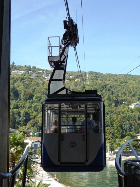Take a cable car up the hills