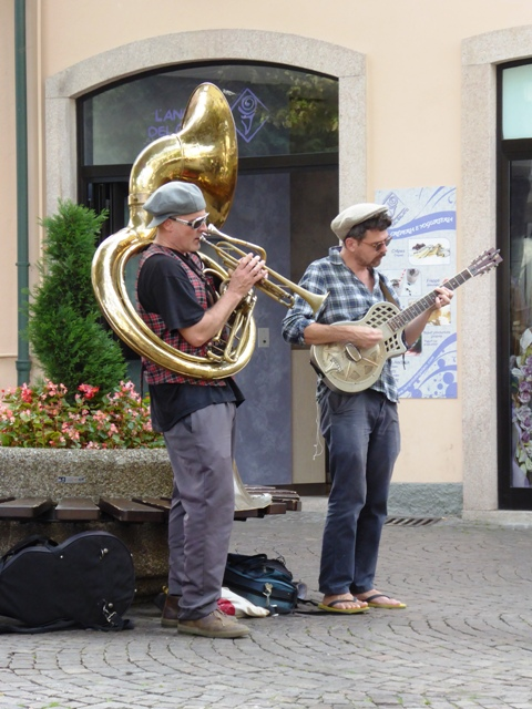 Entertainment in the square