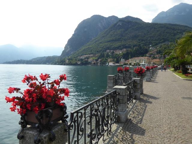 Lunch on Lake Como