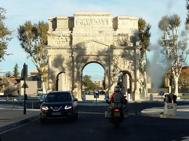 The original Arc de Triomphe