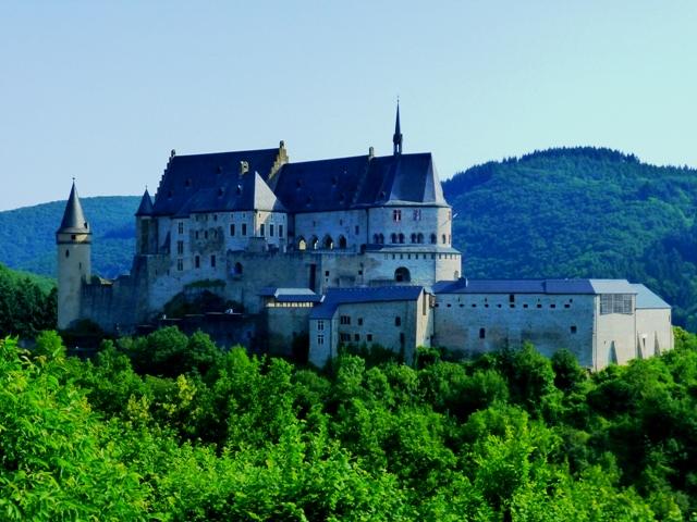 Viandan Castle in Luxembourg