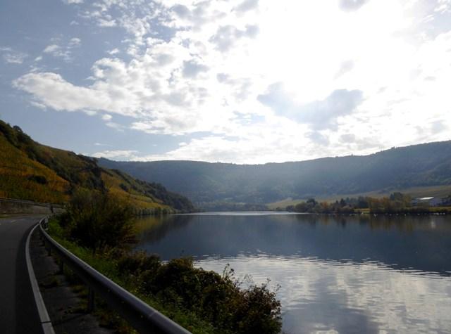 Ride alongside the Mosel River