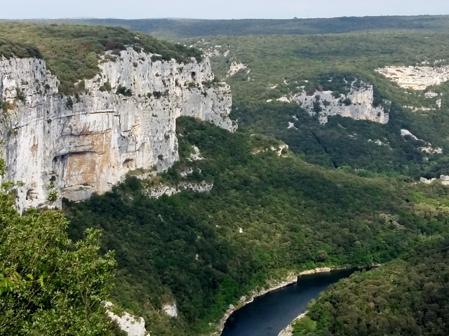 Amazing views in the Ardeche