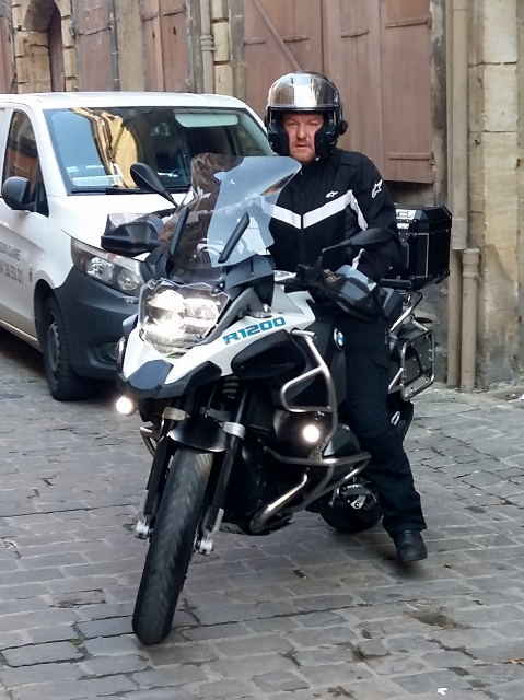 Tom - BMW R1200 GSA