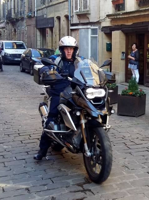 Graham on his BMW R1200 GS