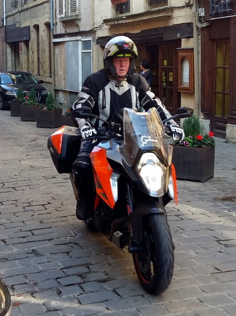Clive on his KTM 1290 Superduke GT