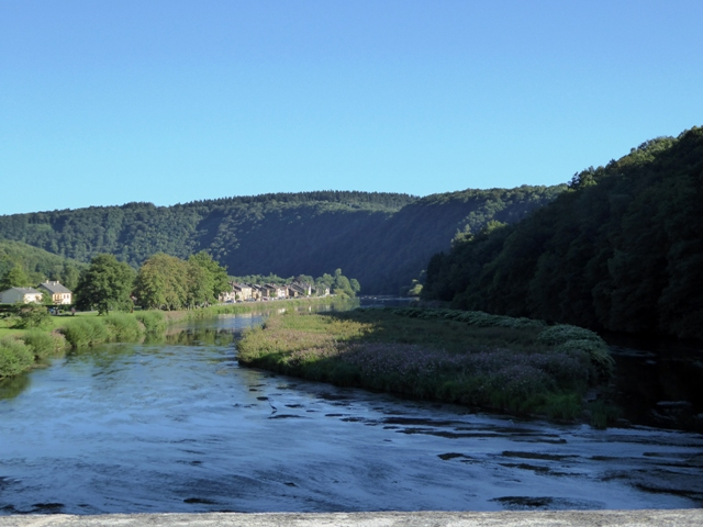 Gorgeous scenery in the Ardennes