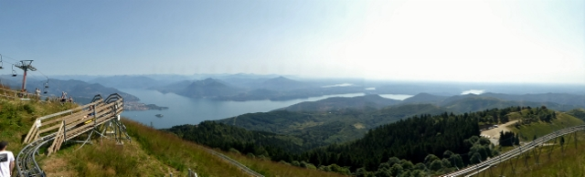 Stunning views of the lakes