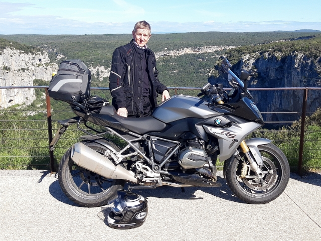Peter in the Ardeche