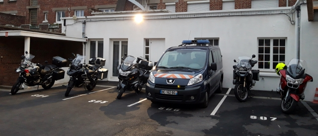 Secure parking...!