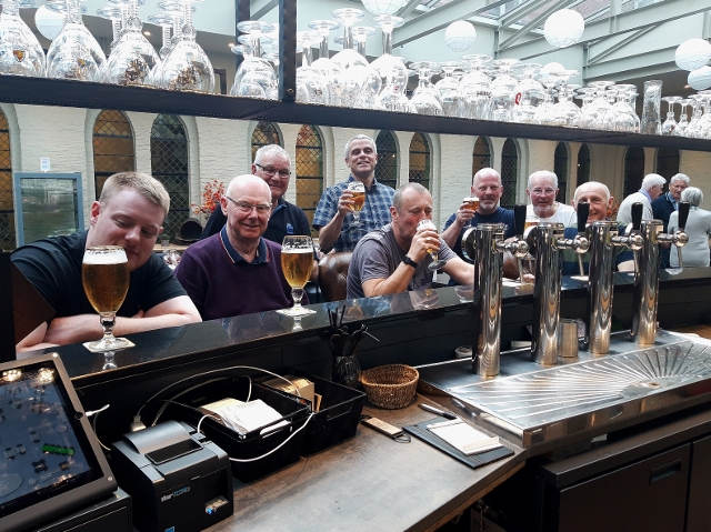 Beers all round