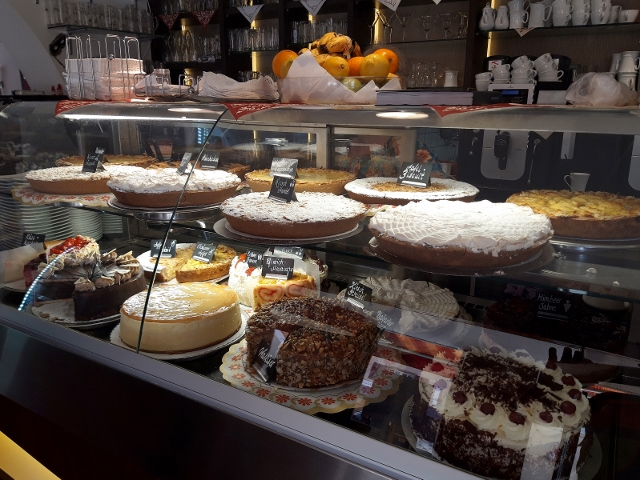 Selection of cakes to choose from