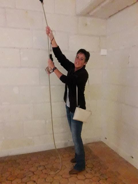 Jen's bell ringing !!