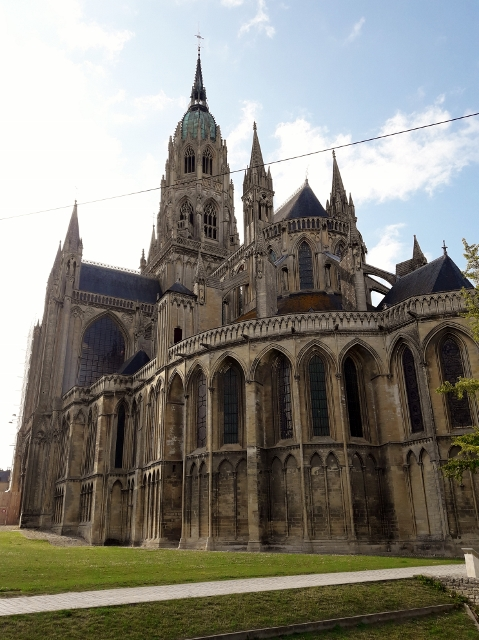 The Cathedral at Bayeux