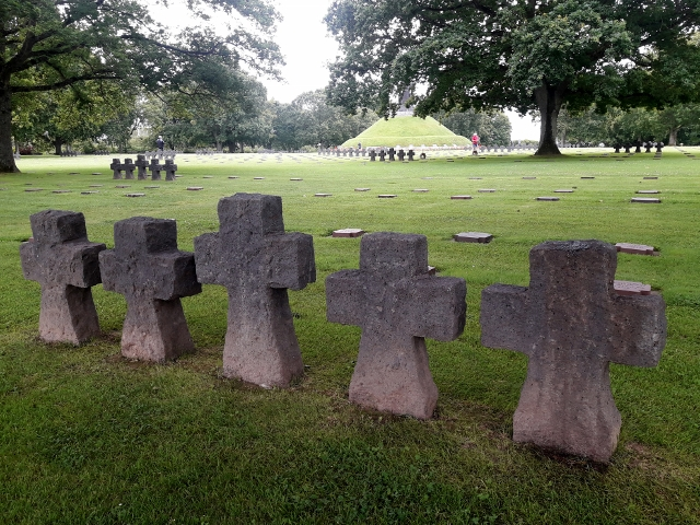 Next day, the German Cemetery