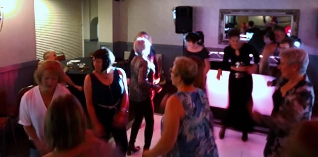 We then hit the dance floor