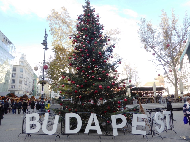 We escape to Budapest for a few days