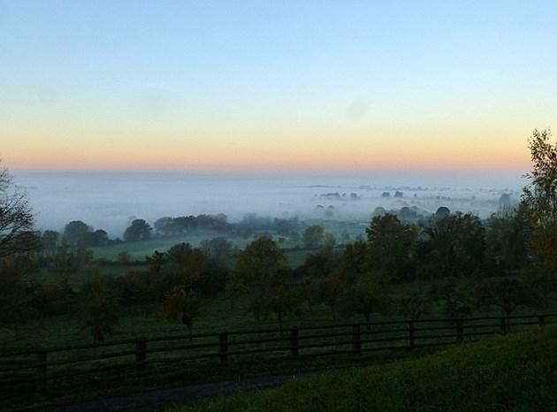 At home - sunrise 2 November