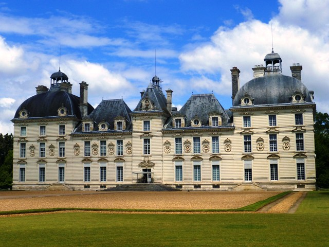 Our second chateau at Cheverny