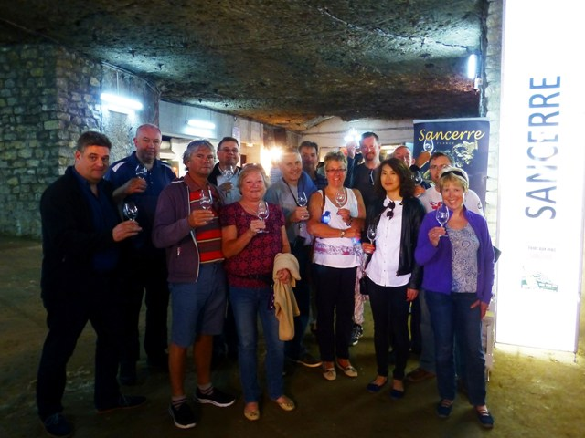 The Group at the Sancerre Wine Festival