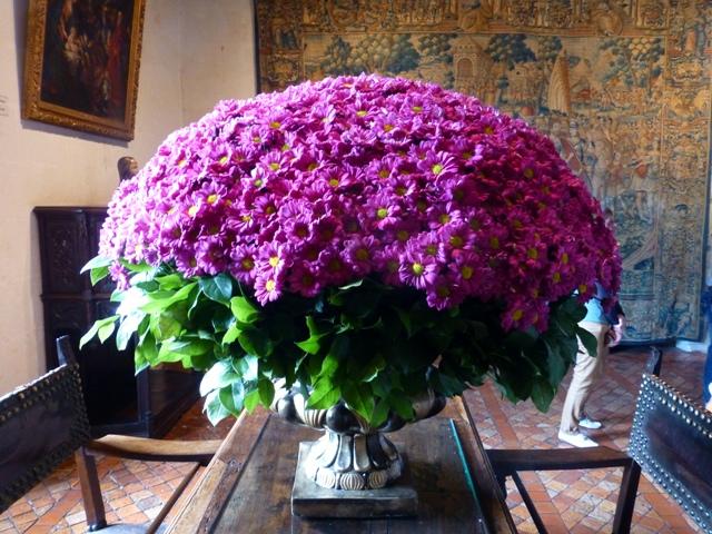Lovely flowers inside