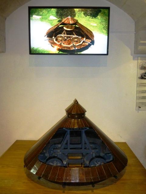 See Leonardo da Vinci's inventions in Le Clos Luce