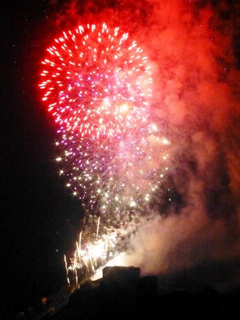Stunning firework display