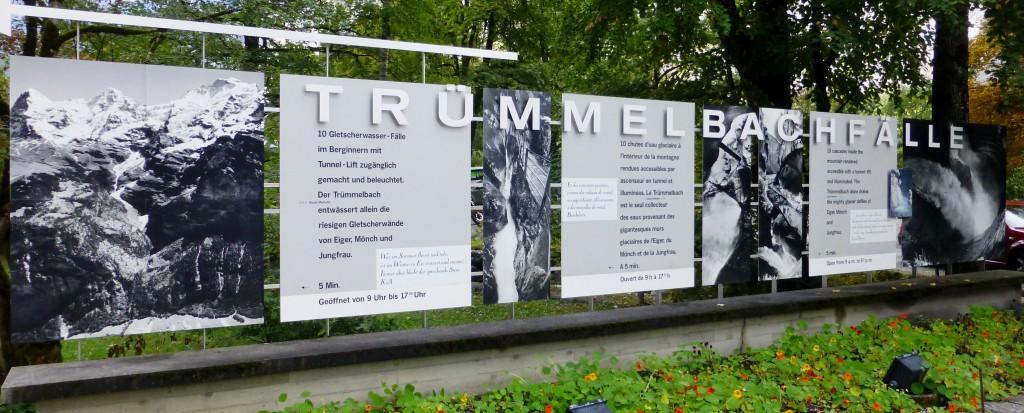 We visit the Trummelbach Falls