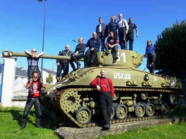 The Group at the Saumur Tank Museum